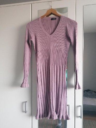 Ženska bebi roze haljina, univerzalna veličina, ima dosta elastina