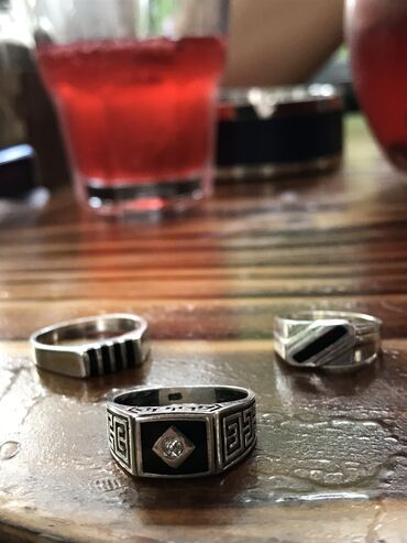 Кольца, печатки мужские  СЕРЕБРО 925 проба
