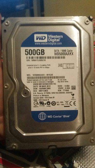 Sərt disklər və səyyar vincesterlər Azərbaycanda: Hard Disk 500 GB