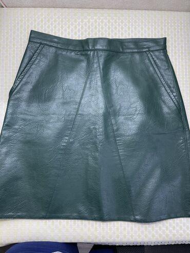 Кожаная юбка Mexx Одевала один раз  Размер : 38