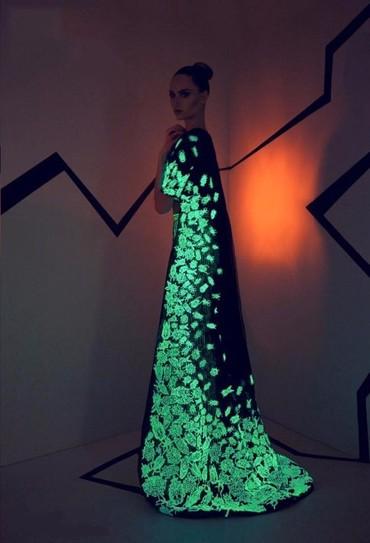 Профессиональная светящаяся краска для ткани специально изготовлена