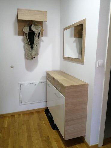 Civiluk - Srbija: Hodnik, cipelarnik sa dve fioke, sirina rucke 20, 110x82x35, ogledalo