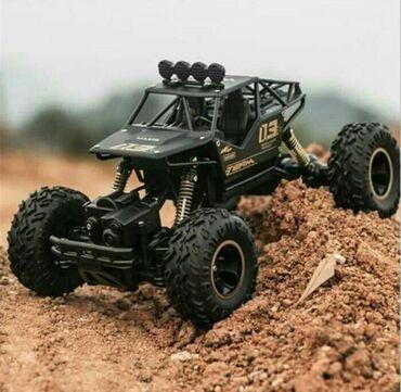 Радиоуправляемая игрушечная машинка Rock Climber Monster 1:16