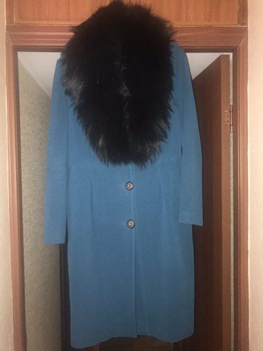 Продаю очень красивое пальто, Турция. Цвет изумруд. Размер 38 (42-44)