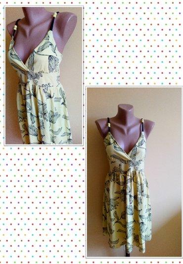 Haljine | Bajina Basta: Pamucna haljina velicina M, ali odgovara i za L