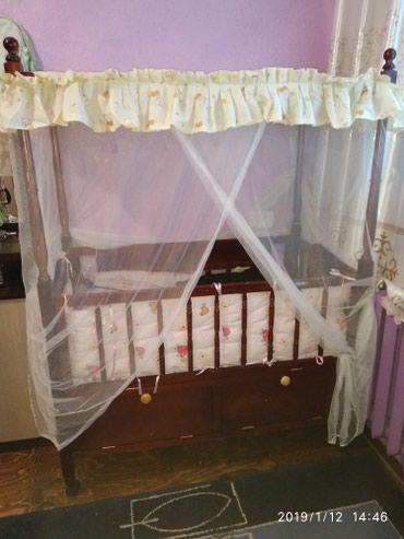 Продаю кроватку б/у в отличном в Сокулук