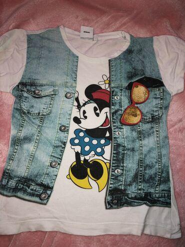 Dečija odeća i obuća | Tutin: Majica 5-6 godina Minnie maus