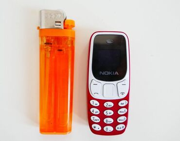 Elektronika - Kopaonik: Nokia 3310 mini BM10 Crvene bojeModel- BM10Najmanji telefon na svetu