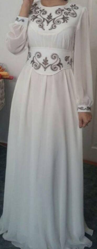 Срочно продаю красивое национальное платье на кыз-узатуу, надето всего