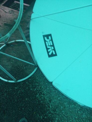 купить-спутниковую-тарелку в Кыргызстан: Продаю спутниковую антенну в отличном состоянии. Есть супер провод