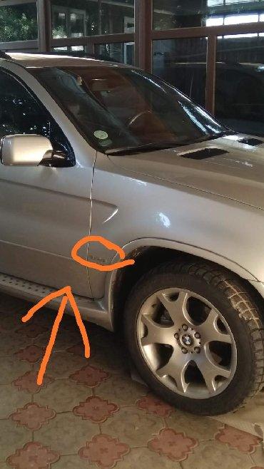 Автозапчасти и аксессуары - Токмок: На BMW X5 только  цифры ( 3.0 d ) клеятся на двухсторонний скотч.   б