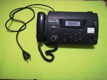 Телефонов факсов - Кыргызстан: Продается рабочий б.у. Телефон факс Panasonic KX-FT 931. Цена: 2000