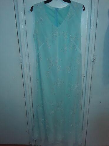 вечернее платье 48 50 размер в Кыргызстан: Шикарная платья. нежная удобная. в хорошем состояние. размер