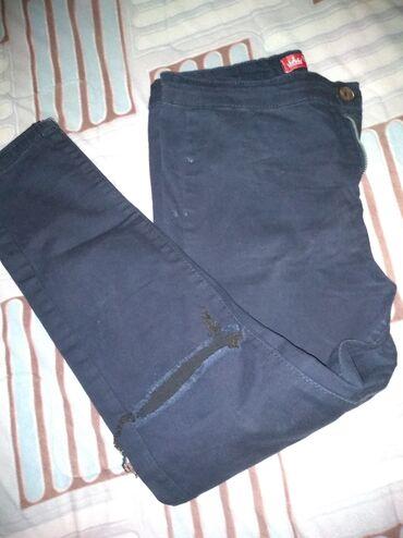 Nove teget pantalone duboke XL