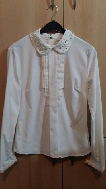 Kosulja-haljinica-pre-stoji-markirana - Srbija: Kosulja sa elastinom,br 38,malo nosena, prelepo stoji