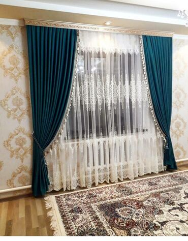 лес купить оптом в Кыргызстан: Тюль портьерные ткань распродажа турецкий качество.Шторы,.Тюль