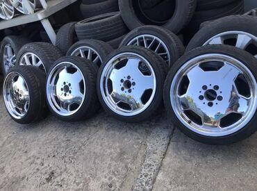 amg диски 18 в Кыргызстан: Диски Mercedes chrome amg monoblock одноширокиеR1818 5х112 цо 66.6