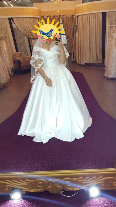 гул букет в Кыргызстан: Сдаю в аренду свадебное платьеОдевала 1 раз, на пару часов в