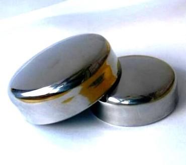 Заглушка для перил из нержавеющей стали диаметром 5 см, прочная и