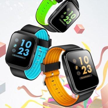 резины для фитнеса в Кыргызстан: Синие Унисекс Наручные часы