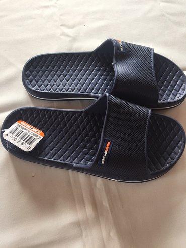 Papuče teget, svetlo plava Velicina  Uvoz Turska