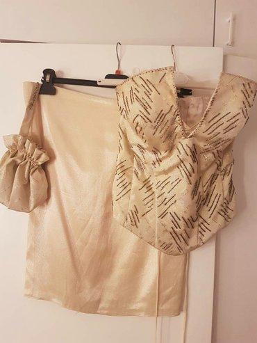 Trodelni komplet!! Korset suknja i tasnica jednom obucen radjen u - Belgrade