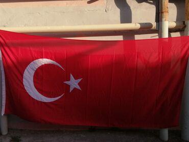 41 elan   BAYRAQLAR: TÜRK bayrağı 1.5×3metr  Satılır  Qiymət 25 azn