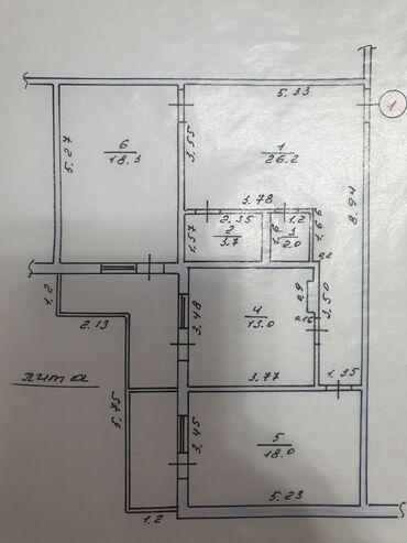 инверторы для солнечных батарей 56000 в Кыргызстан: Продаются 2Х комнатная квартира 105 кв2 мкрн Учкун 56000$ тел