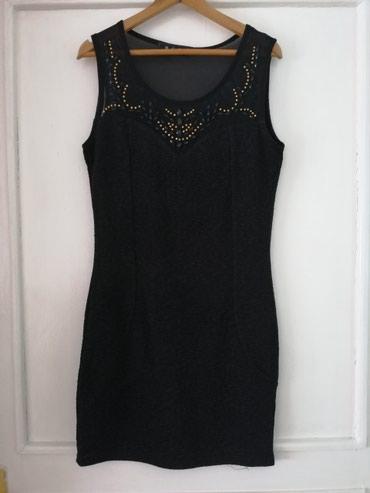 Sako crne boje - Srbija: Haljina je nova i obučena samo jednom Crna boja, veličina M