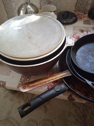 Общем посуда мантоварка казан 4сковородки- Прошу 1500сом