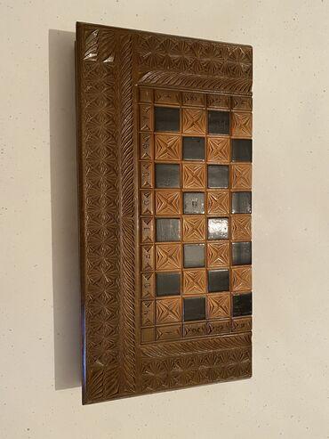 свадебный букет ручной работы в Кыргызстан: Ручная работа, чистое дерево. Шахматы, шашки, нарды. Три в одном
