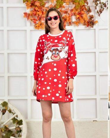 Tunika - haljina Materijal mokra likra Cena 1800 din S M L XL velicina