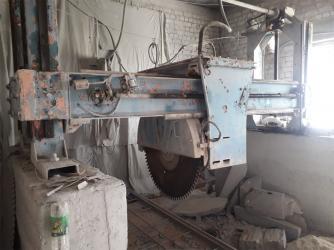 Проточка дисков без снятия - Кыргызстан: Камнеобрабатывающие станки Ортогональная пила распиловочный дробилка