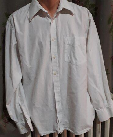 Javor Ivanjica bela košulja vel 42 Očuvano, dimenzije: širina ledja 50