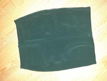 | Raska: Suknjica mastilo zelena M velicine. NOVA