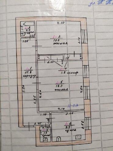 сдается квартира в городе кара балта в Кыргызстан: Продается квартира: 2 комнаты, 56 кв. м