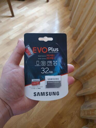 аккумулятор usb в Азербайджан: Yaddaş Kartı Samsung 32 GBEvo Plus Klass 10Brendin adı : SamsungModel