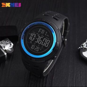 Голубой Мужские Наручные часы Skmei