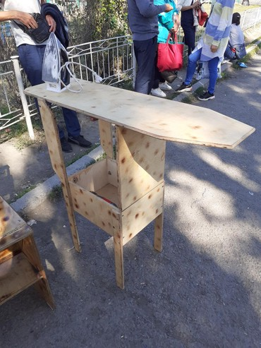 пуф в Кыргызстан: Стул трансформер стул превращается в гладильную доску. три в одном
