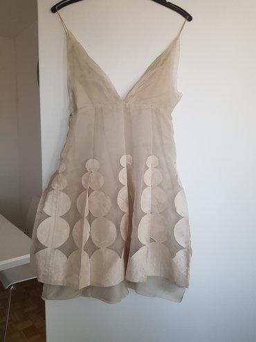 Svilena kosulja - Srbija: Svilena haljina, vel.s