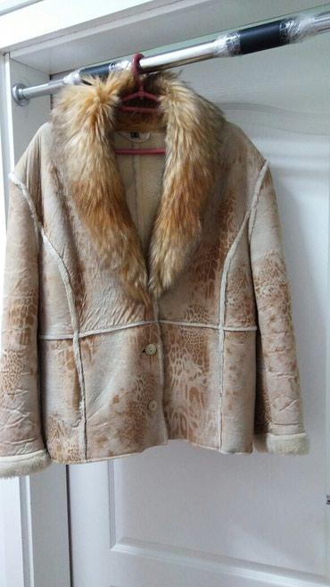 Moderna kratka bunda - Srbija: Kratka bunda od veštačkog krzna.ramena 56.duzina 68.poluobim