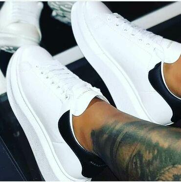 Ženska patike i atletske cipele | Vrsac: Bele Alexander Mcqueen ponovo na stanju u svim brojevima🥰JOS UVEK