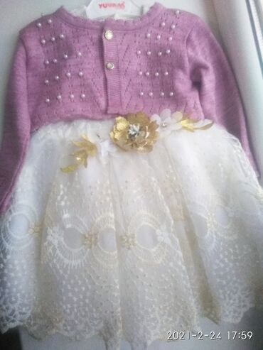 Детский мир - Кара-Балта: Продаю платье Турция размер 2-2.5