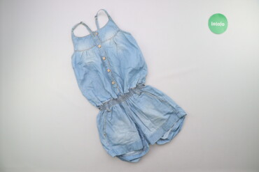 Підлітковий джинсовий комбінезон    Матеріал джинс Довжина 67 см Напів