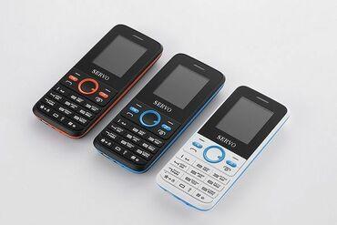 Другие мобильные телефоны - Кыргызстан: РАСПРОДАЖА!!! SERVO V8240. 2 SIM-карты. Помятая упаковка. НовыеЭкрана