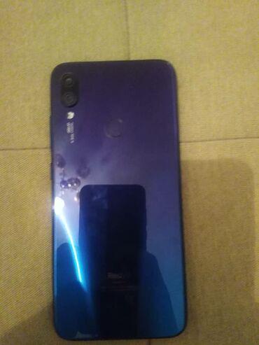 Samsung note 101 - Кыргызстан: Б/у Xiaomi Redmi Note 7 32 ГБ Синий
