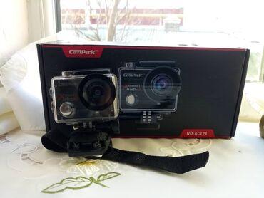 4K 20MP Экшн-камера EIS Внешний микрофон WiFi Водонепроницаемая камер