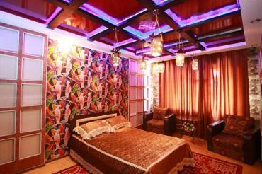 ванная комната в Кыргызстан: Гостиница в бишкеке! сдаются отдельные 1 комнатные квартиры посуточно