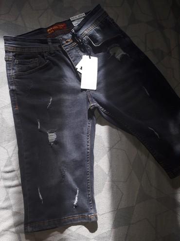 шорты джинсовые в Кыргызстан: Новые Турецкие джинсовые шорты, 29 размер. Отличного качества
