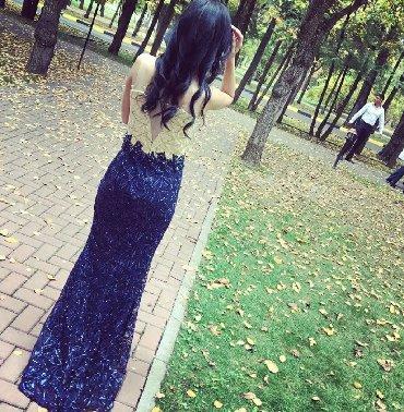 русалка в Кыргызстан: Продаю очень красивое платье русалка,платье с небольшим шлейфом